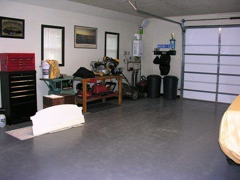 The Man Cave Garage Interior