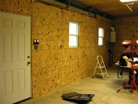 The Man Cave Garage Under Construction