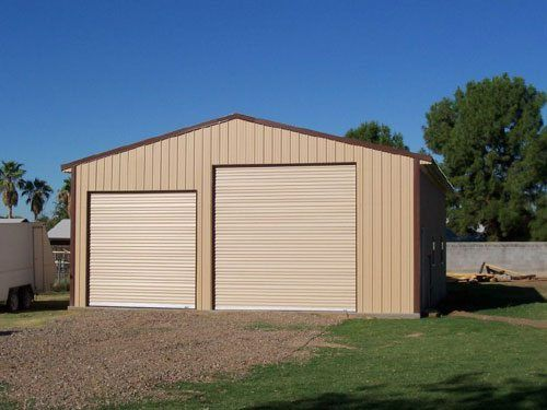Absolute steel garage kit gallery - Custom size garage doors ...