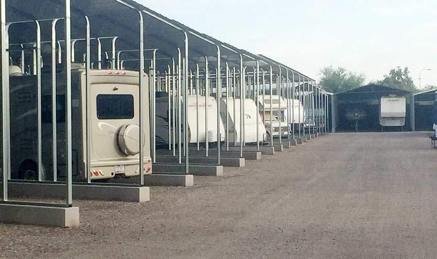 Rv Covered Parking Structures Of Commercial Carports And Covered Parking Structures
