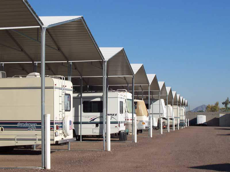 rv covered parking structures