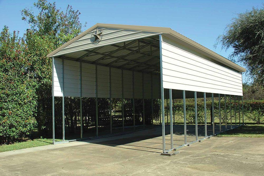 Rv Garages Carports : Rv carports metal covers