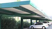 Commercial Carport Navigation