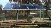 Solar Carport Navigation