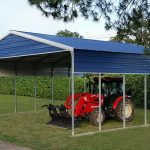 Mohave Carport with Gable Panel