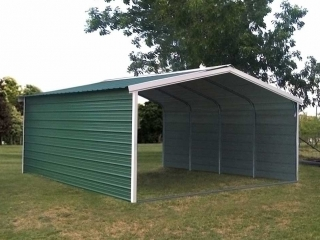 Fully Enclosed Mohave Carport