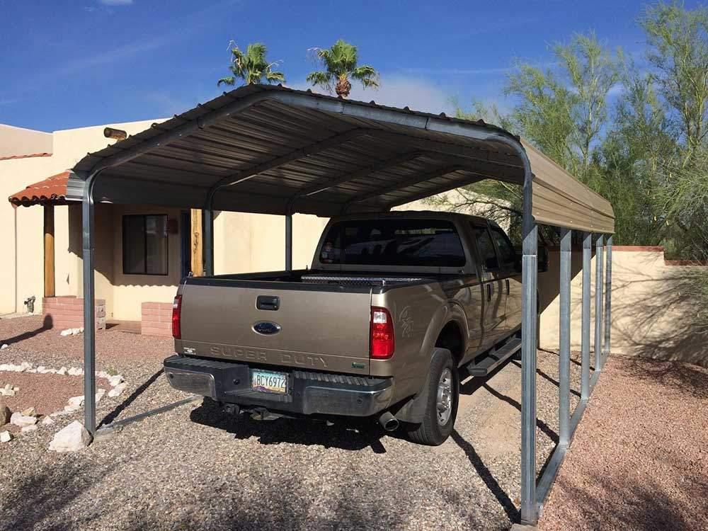 Single Vehicle Sonoran Carport
