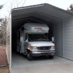 Three Sided Sonoran RV Carport