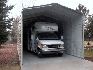 Three Sided Sonoran RV Carport