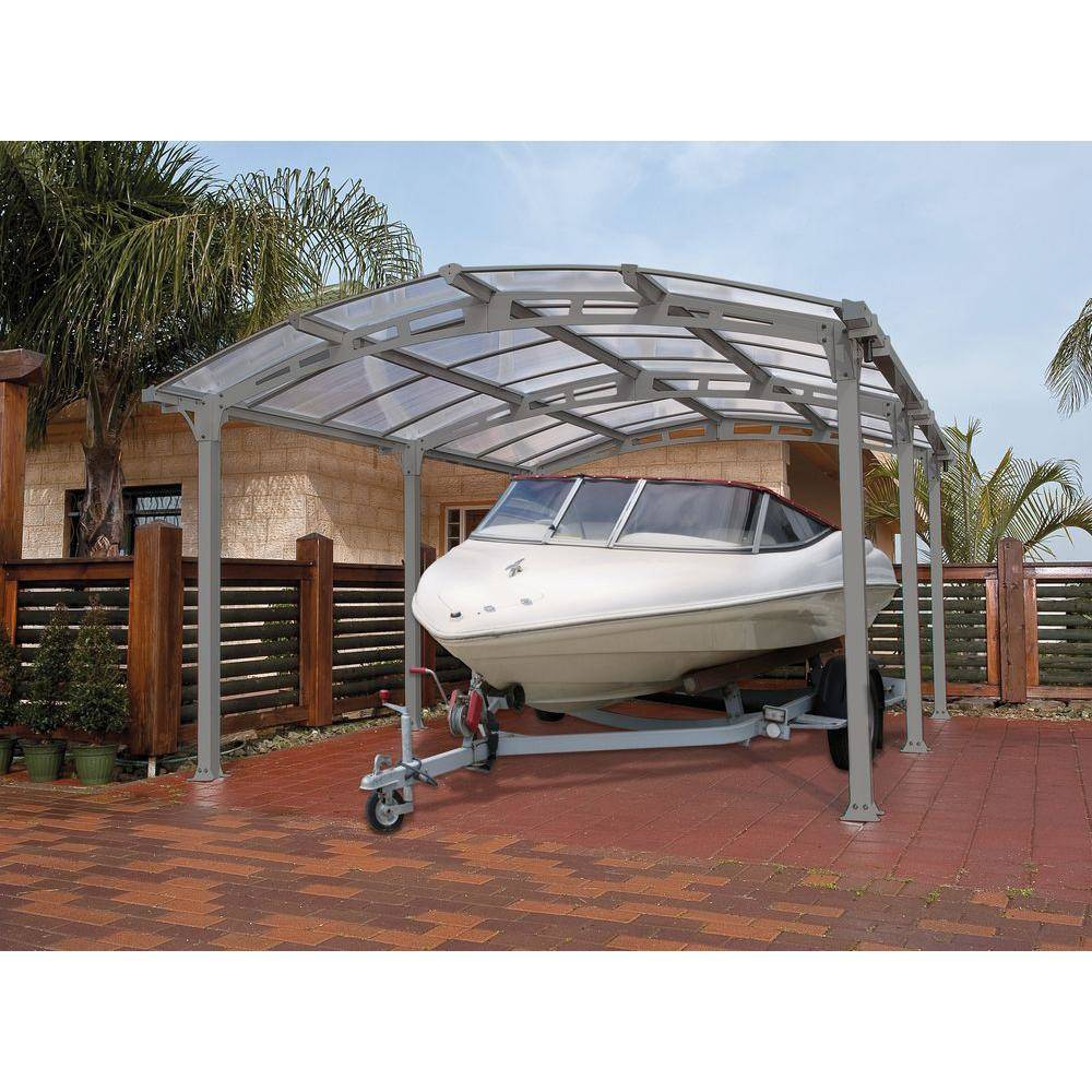 Arcadia Carport as a Boat Cover