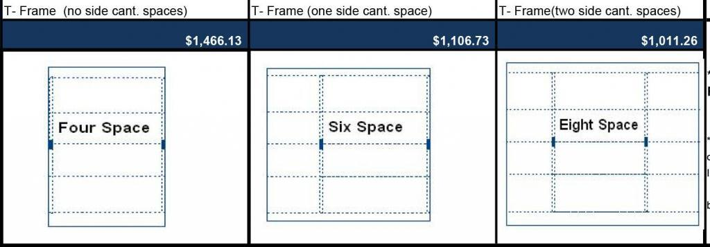 T Frame Carport Pricing
