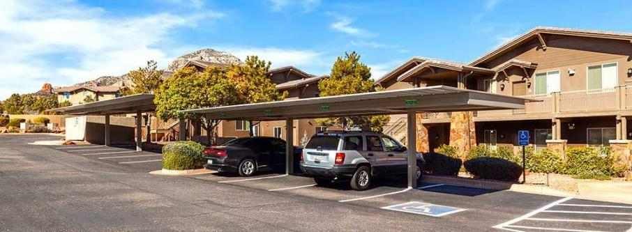 Commercial Covered Parking Structures