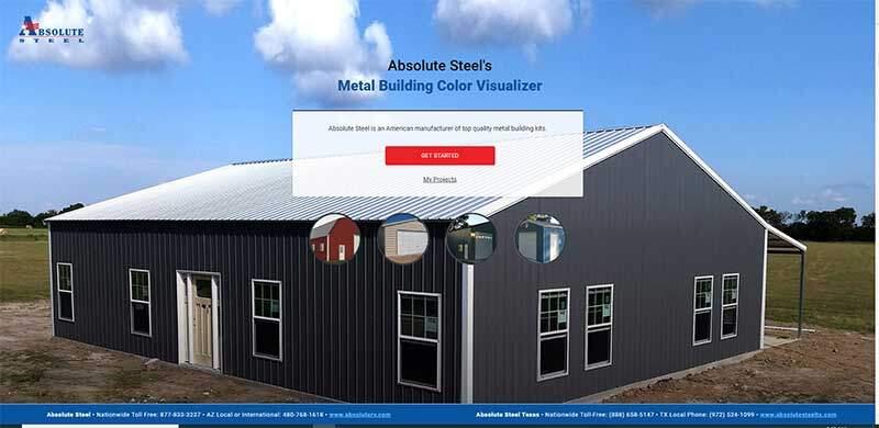Steel Building Color Visualizer
