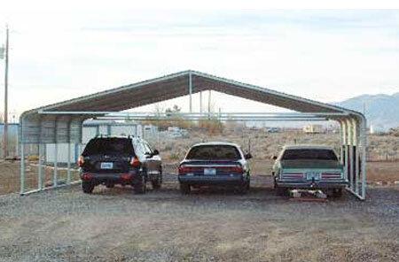 Steel Carport in Pahrump Nevada