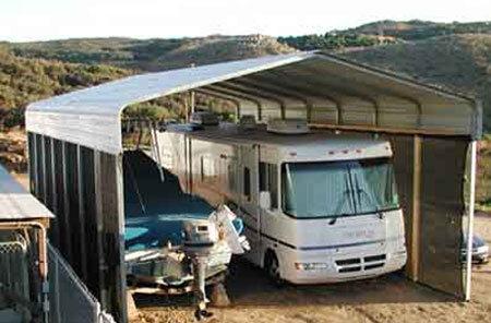 RV Carport in California