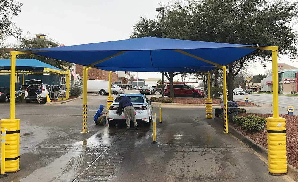 Commercial Carwash Drying Station