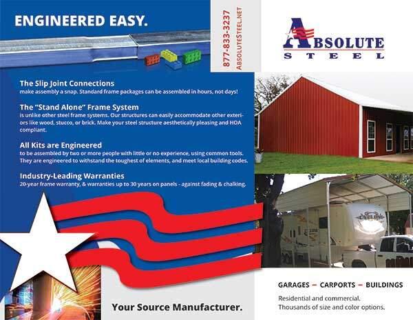 Absolute Steel Brochure