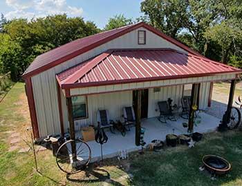 Kit homes and barndominiums