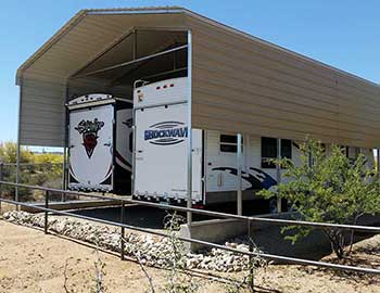 RV Carports and Shade Covers