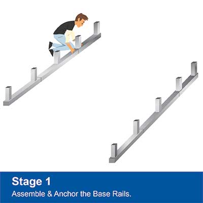 Step 1 - Assemble Base Rails