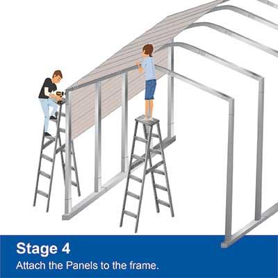 Step 4 - Install Panels