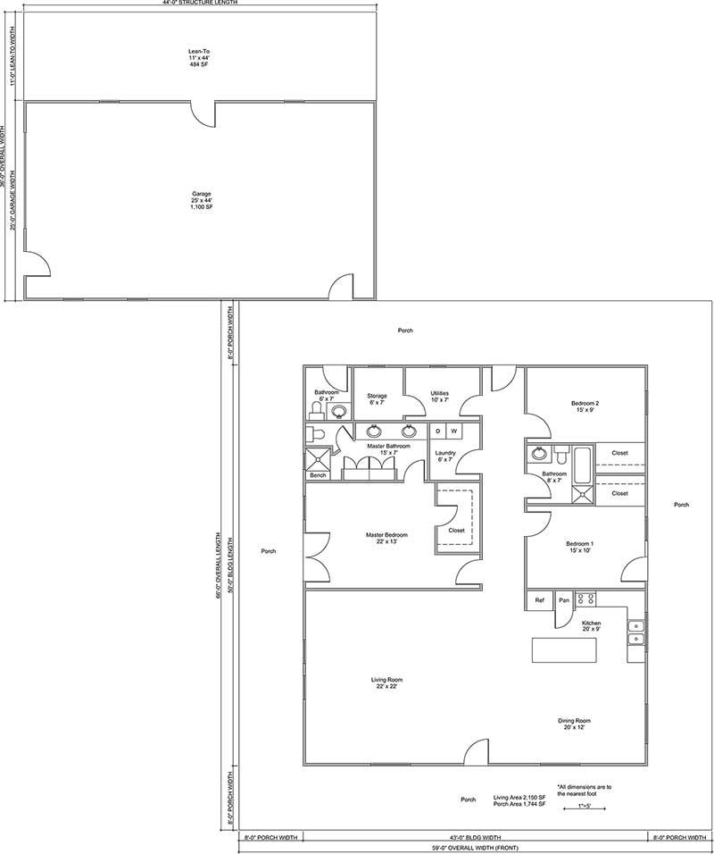 Kaufman Floor Plan