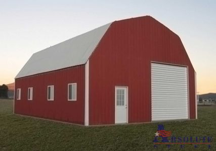 Barn Style Metal Building - The Gambrel Building Kit
