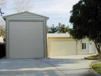 TWO GARAGES IN CALIFORNIA #2