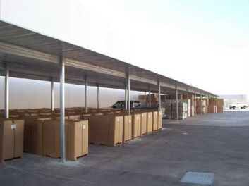 absolute steel carport project examples. Black Bedroom Furniture Sets. Home Design Ideas